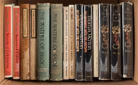 Fourteen volumes by Thomas Merton