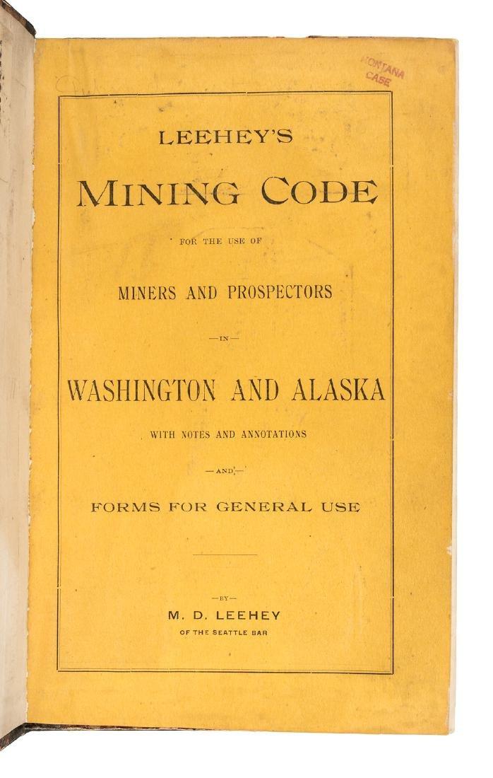 Lehey's Mining Code for Washington & Alaksa