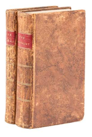 """Federalist, first edition, """"thick paper"""" copy, 1788"""