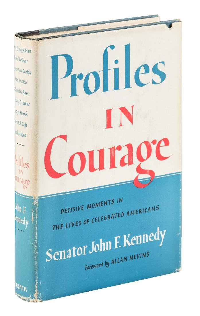 Profiles in Courage inscribed by John F. Kennedy - 2