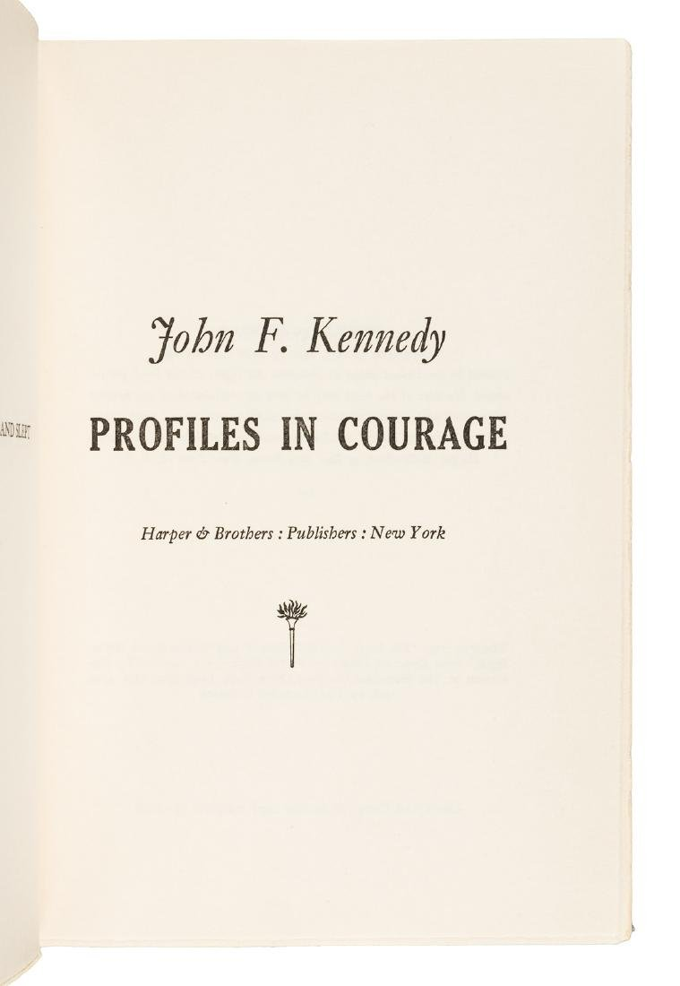 Profiles in Courage inscribed by John F. Kennedy - 4