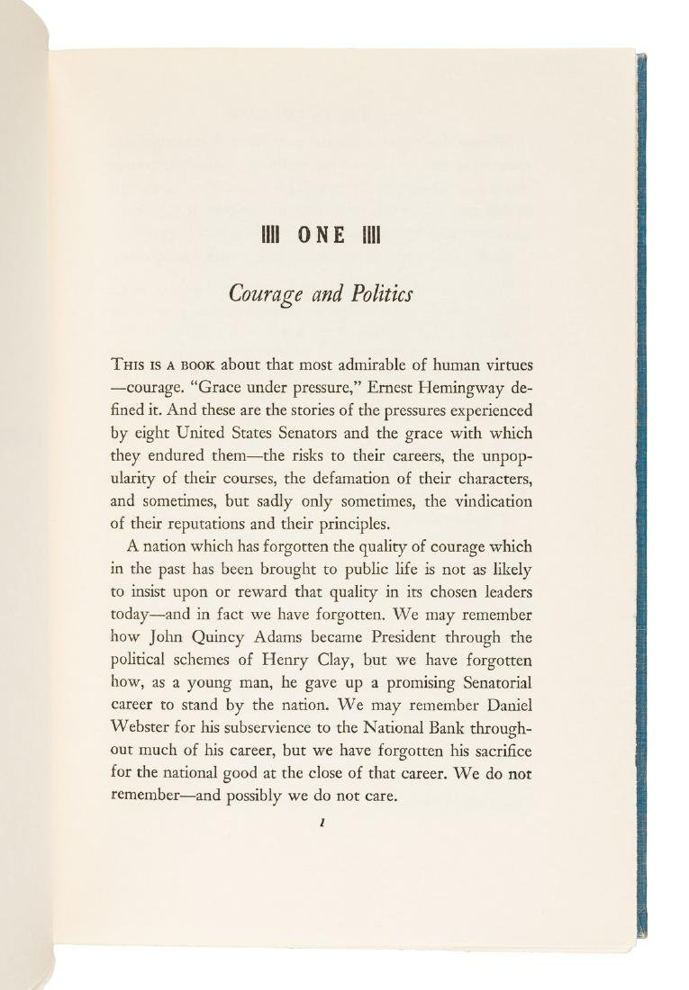 Profiles in Courage inscribed by John F. Kennedy - 7