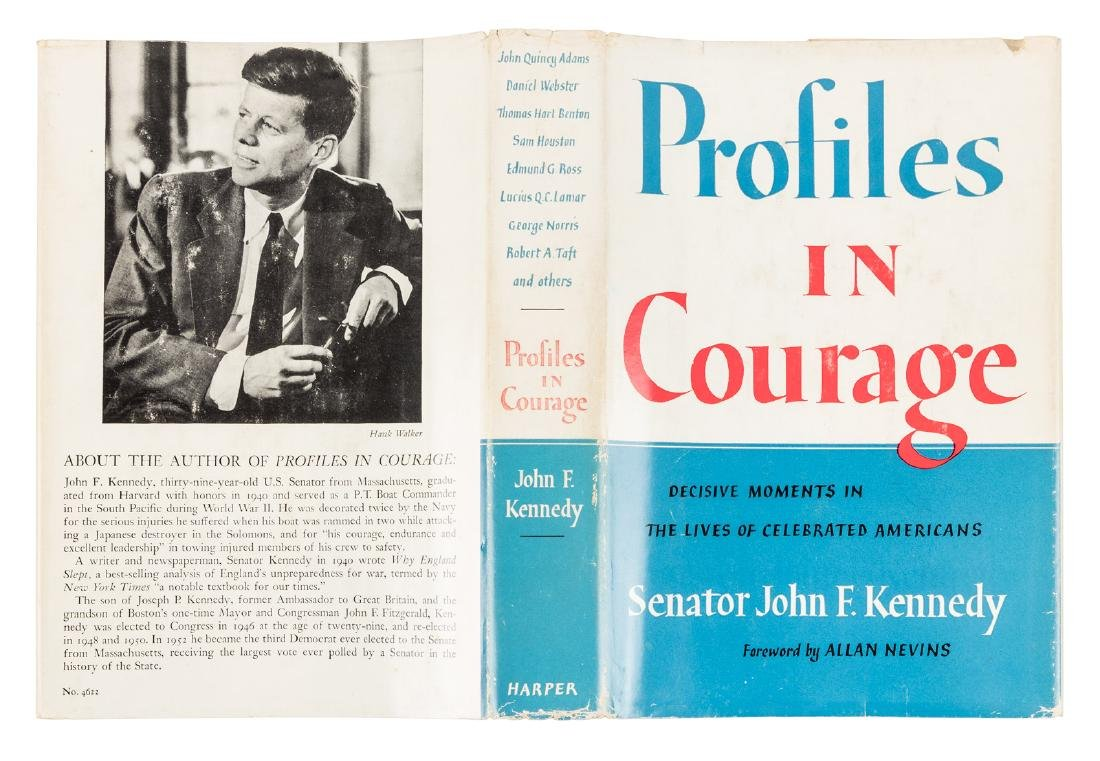 Profiles in Courage inscribed by John F. Kennedy - 8
