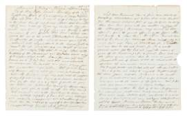 Letter from missionary in Liberia, 1847