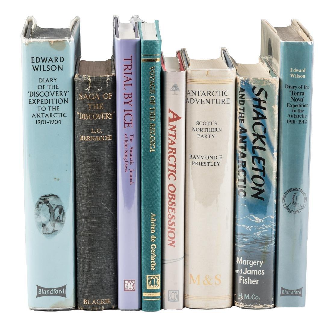Eight volumes on Antarctic exploration