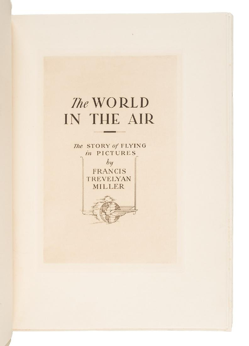 F.T. Miller The World in the Air Pioneer Aviation - 3