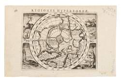 Map of north polar regions 1616