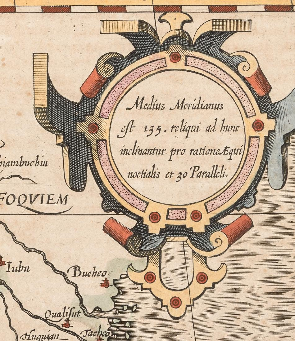 Hondius map of India and southeast Asia - 4