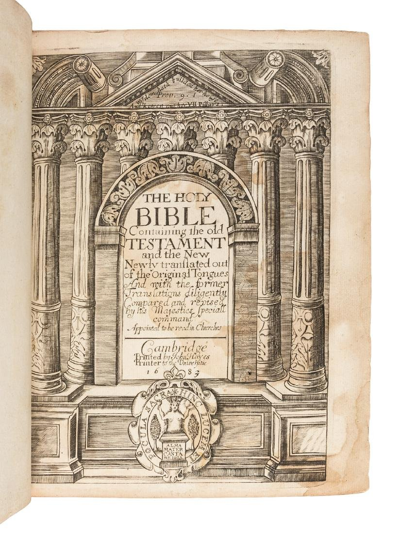 King James Bible 1683