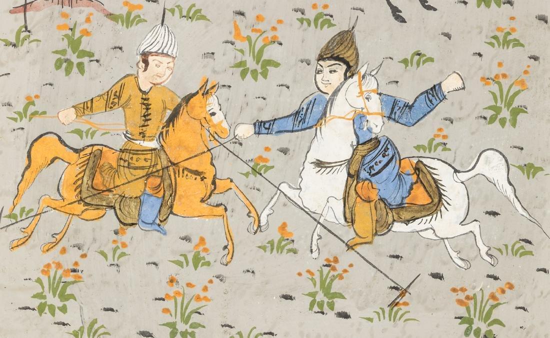 Persian miniature paintings - 5