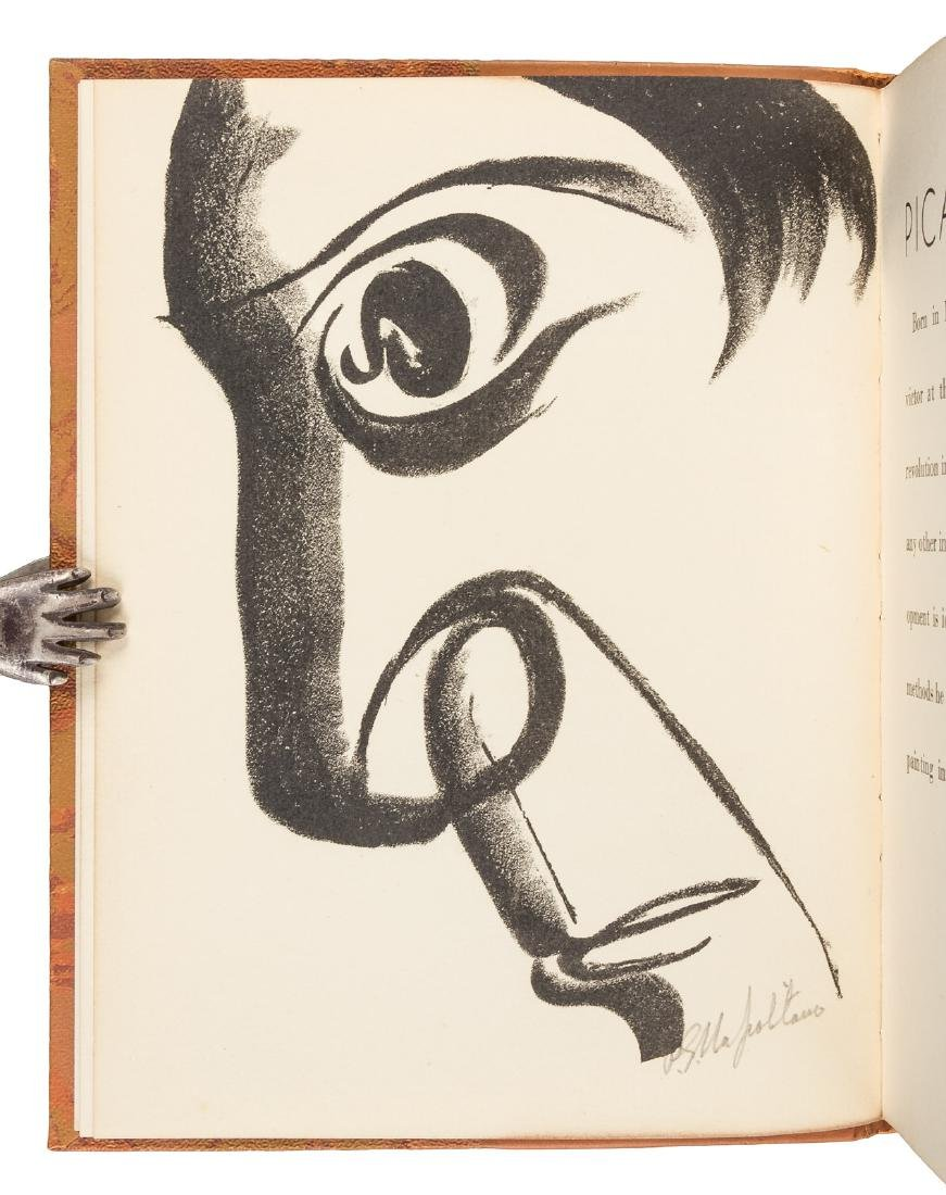 Uniquely bound w/signed lithograph of Picasso - 2