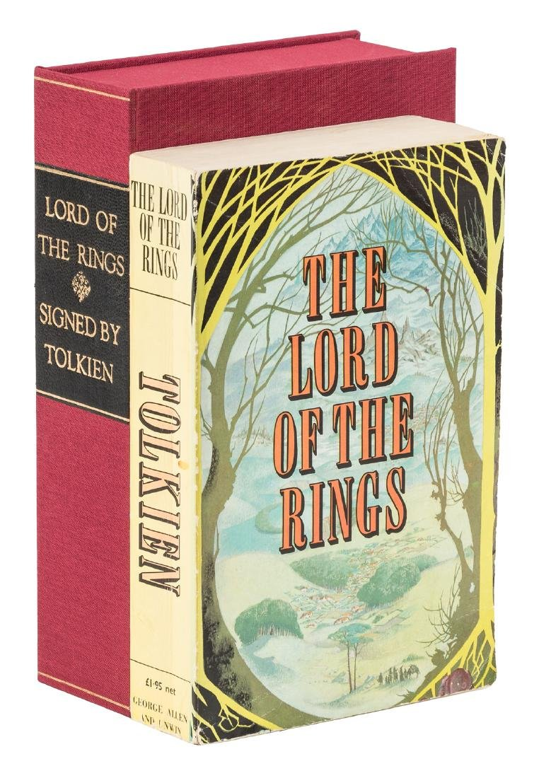 Lord of the Rings signed by J.R.R. Tolkien