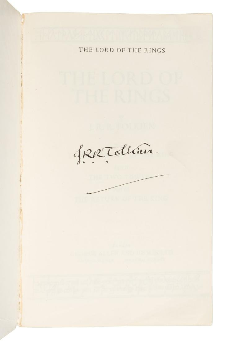 Lord of the Rings signed by J.R.R. Tolkien - 2