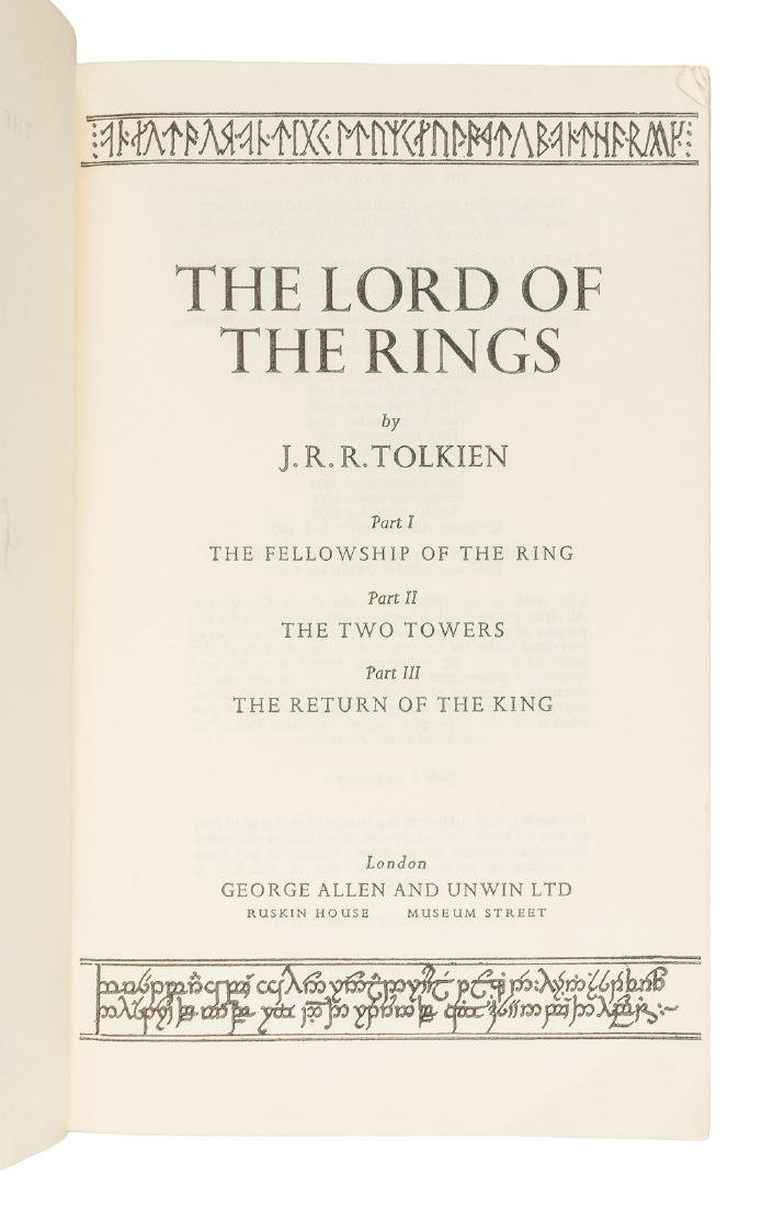 Lord of the Rings signed by J.R.R. Tolkien - 3