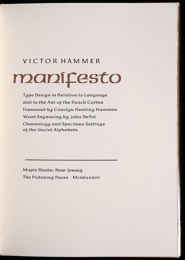 3008: Manifesto: Type Design in Relation to Language an