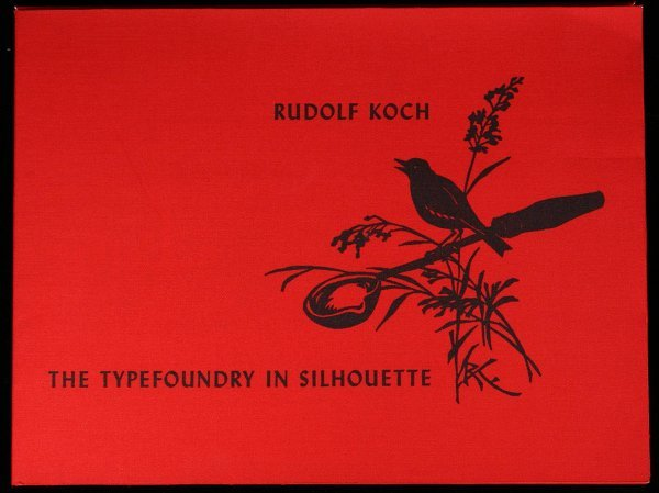 3020: The Typefoundry in Silhouette: How printing type
