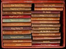 3242 Set of Shakespeares Plays in miniature