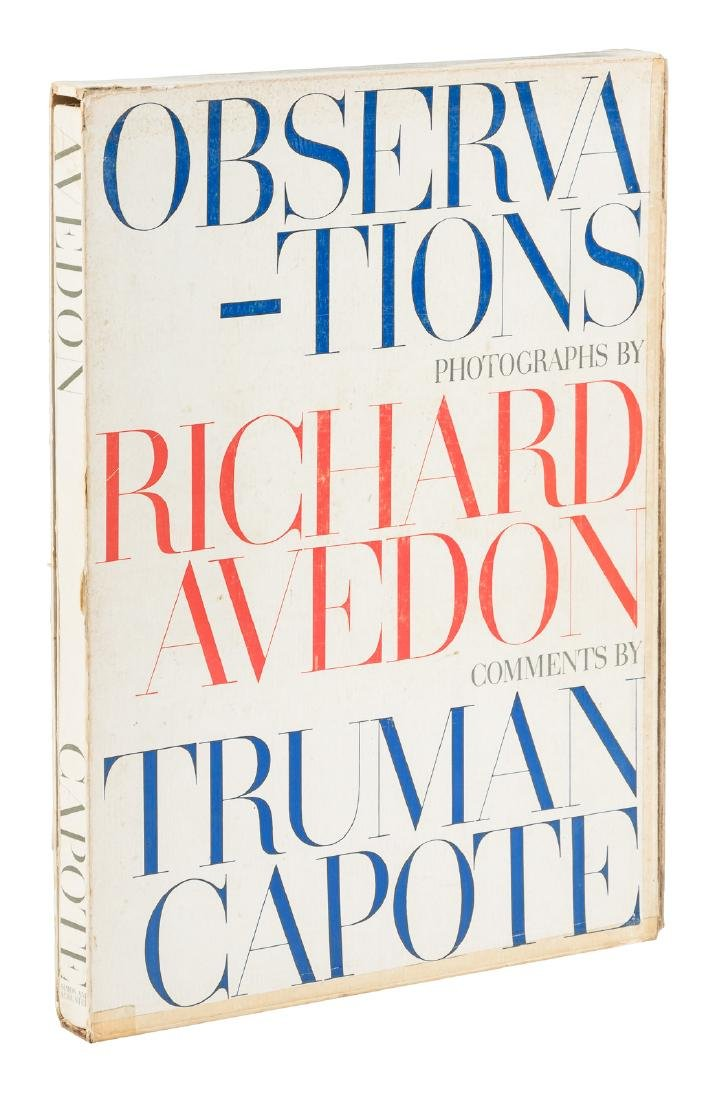 Observations Richard Avedon and Truman Capote