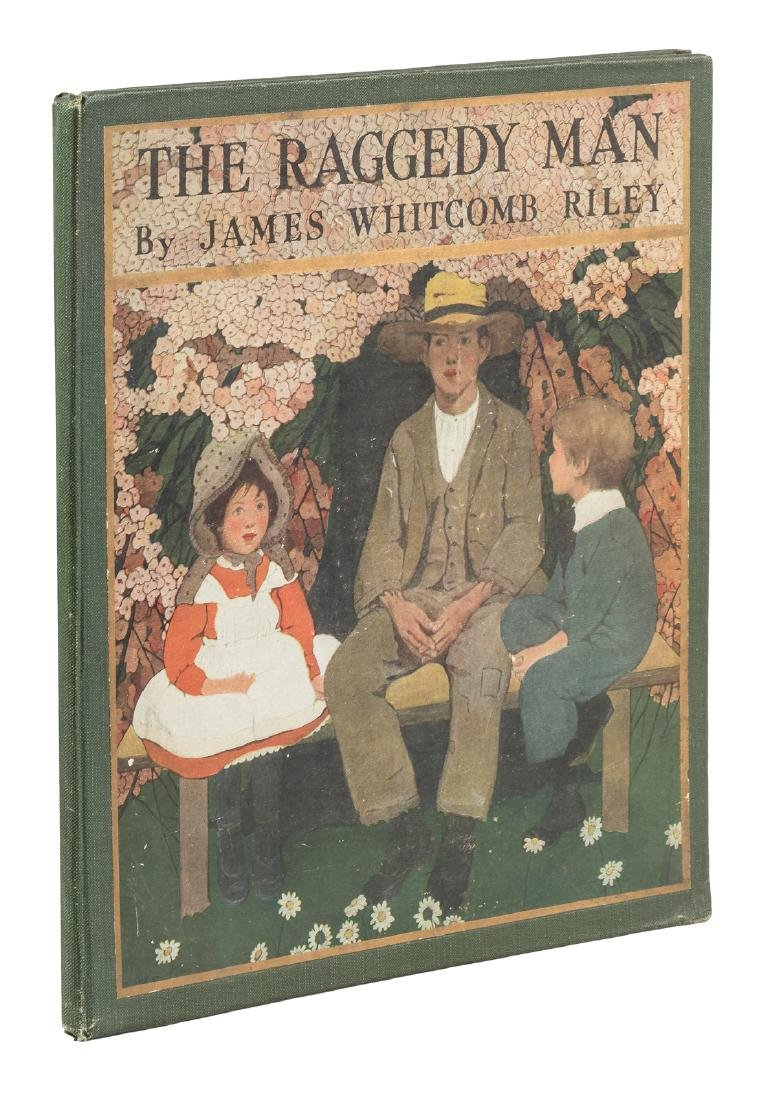 Riley's Raggedy Man with Betts illustrations