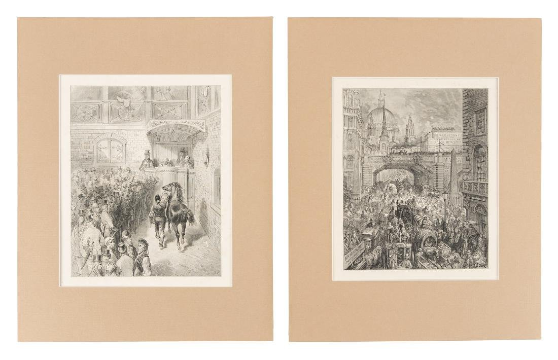 Doré, Eighteen plates from London: A Pilgrimage
