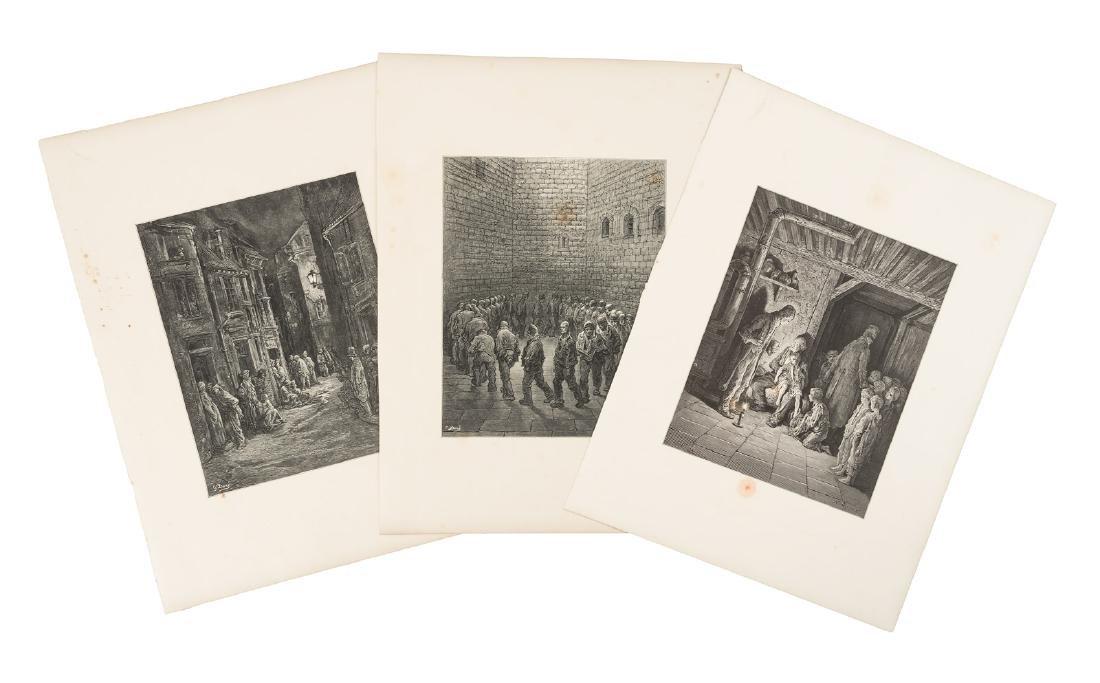 Doré, Eighteen plates from London: A Pilgrimage - 2