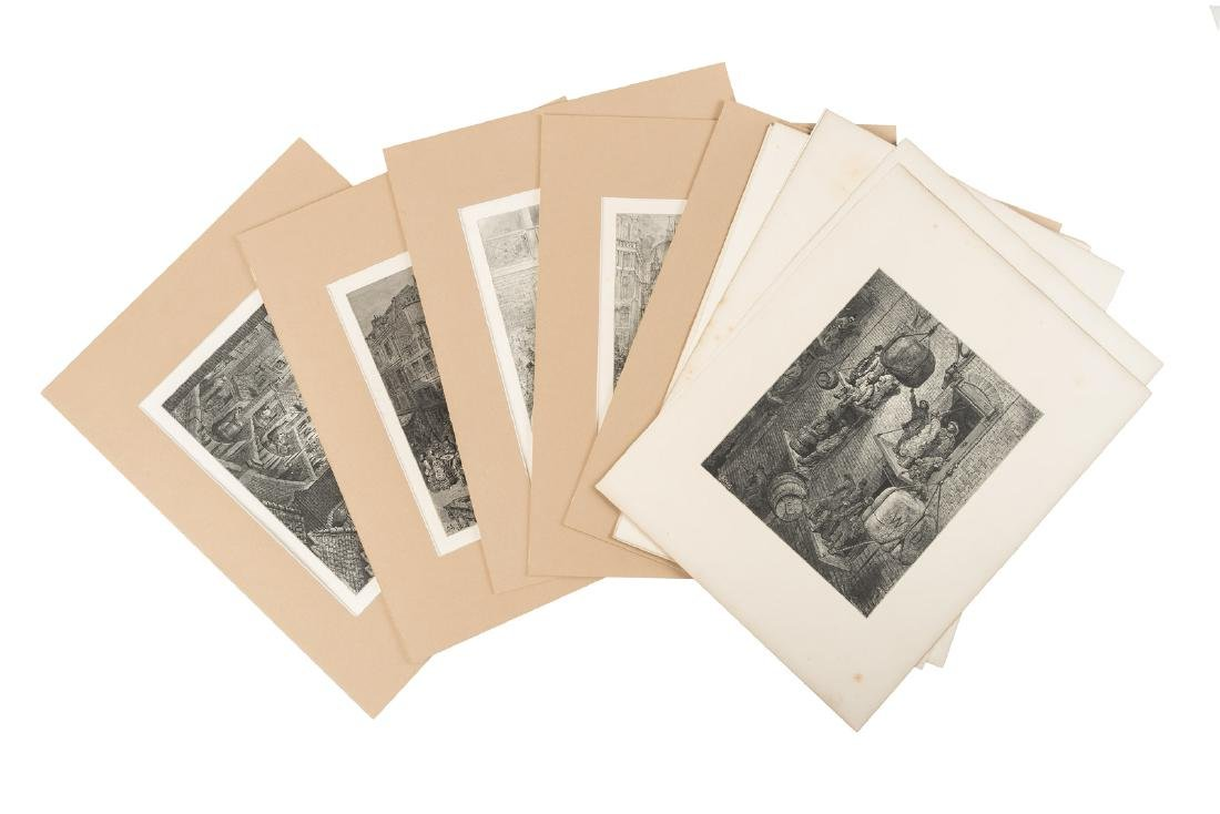 Doré, Eighteen plates from London: A Pilgrimage - 3