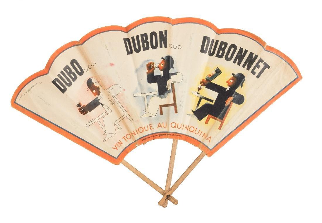 French poster artist Cassandre - 1930s Dubonnet