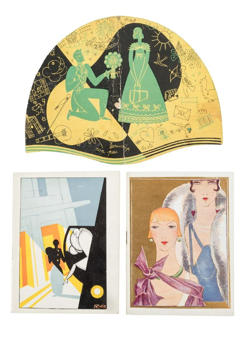 French Art Deco commercial art of the 1920s and 1930s
