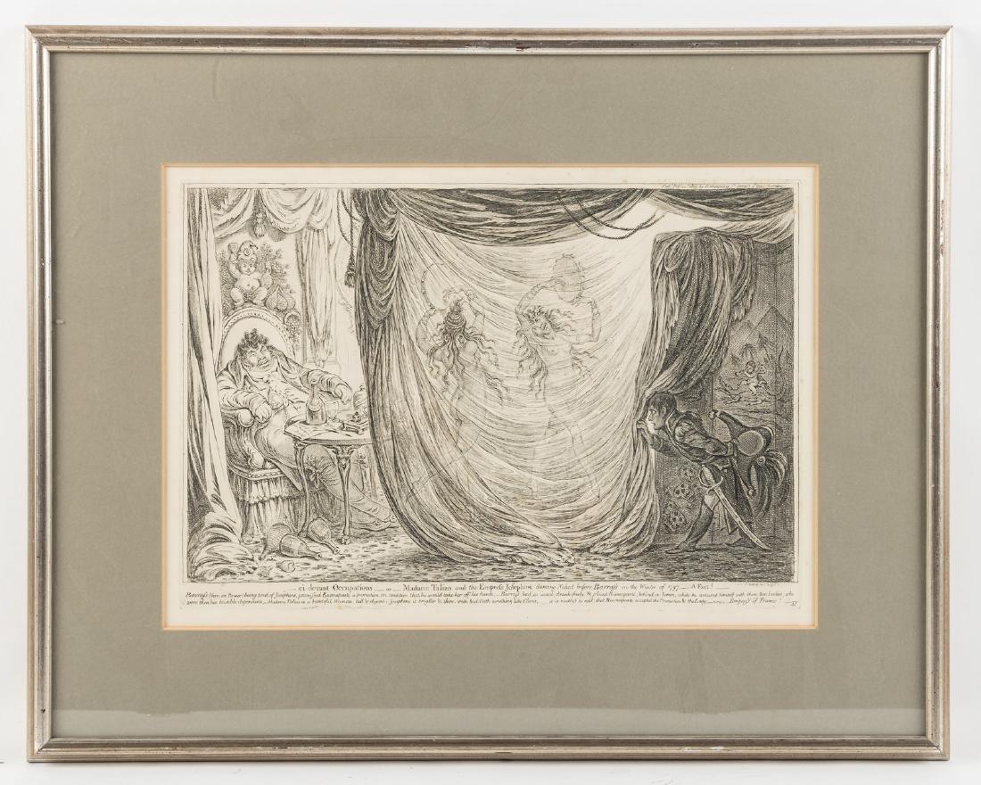 James Gillray satirical etching 1805