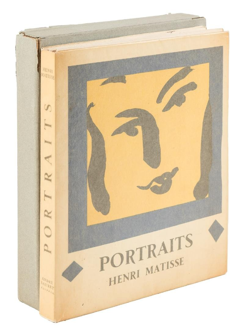 Portraits by Henri Matisse 1954