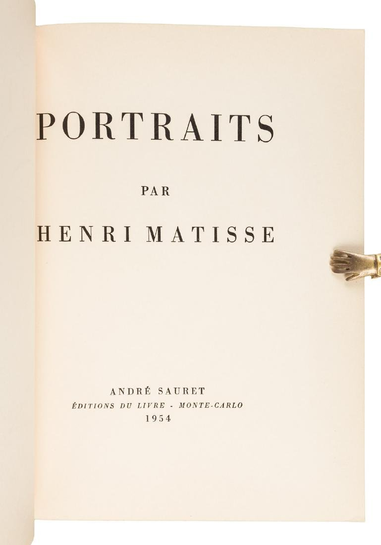 Portraits by Henri Matisse 1954 - 3