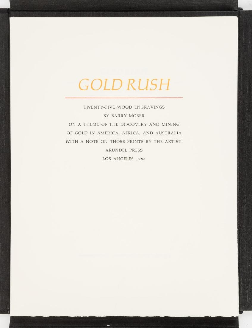 Moser's Gold Rush with 25 wood engravings 1/350 - 2