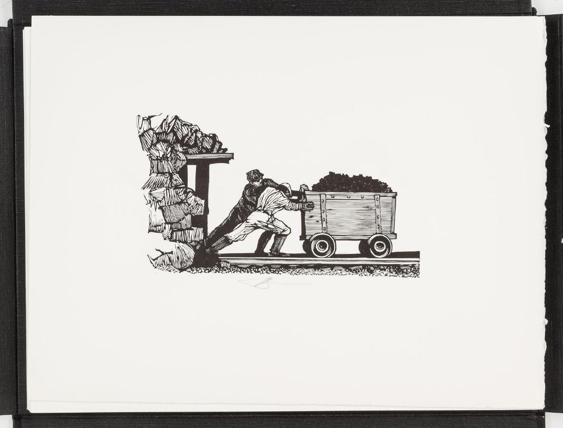 Moser's Gold Rush with 25 wood engravings 1/350 - 4