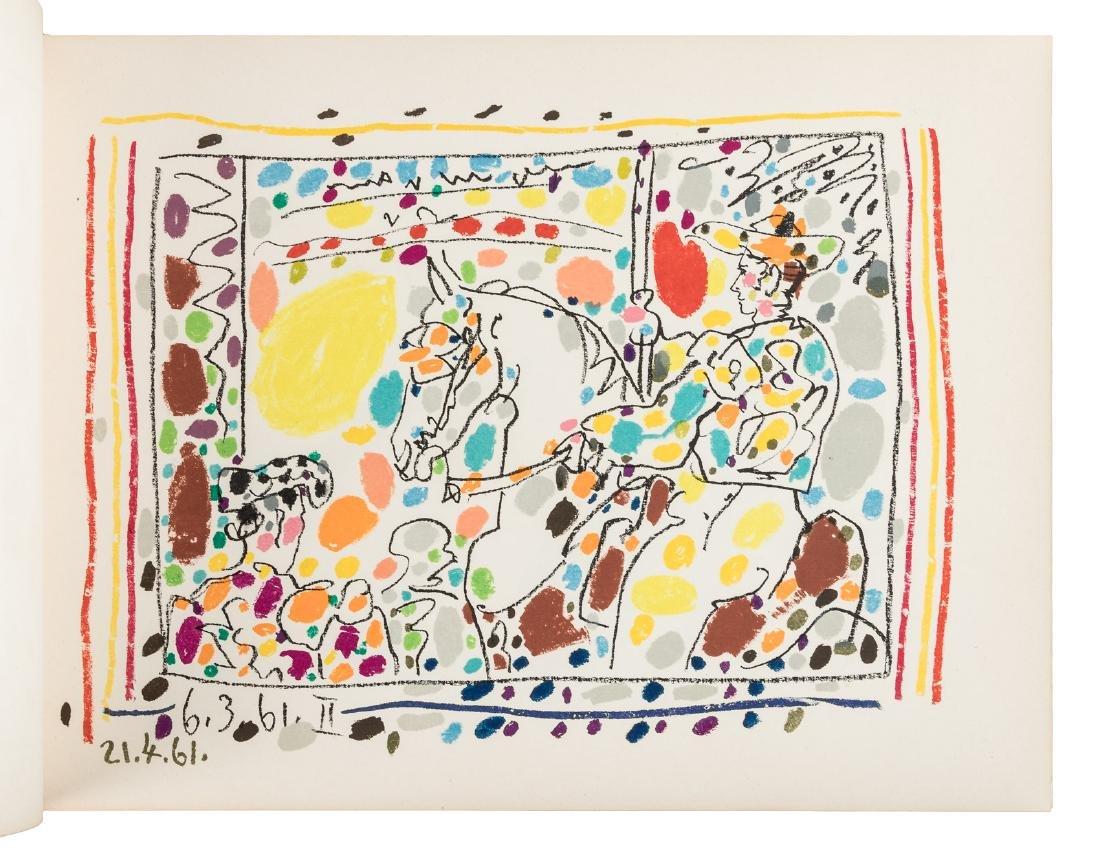 Picasso Toreros 4 original lithographs 1st Edn 1961