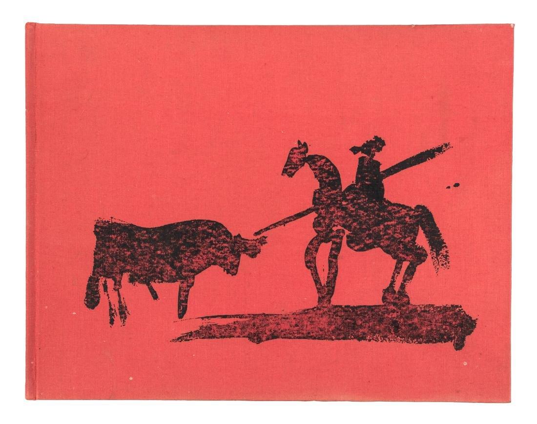 Picasso Toreros 4 original lithographs 1st Edn 1961 - 3