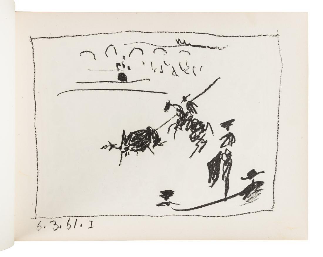 Picasso Toreros 4 original lithographs 1st Edn 1961 - 5