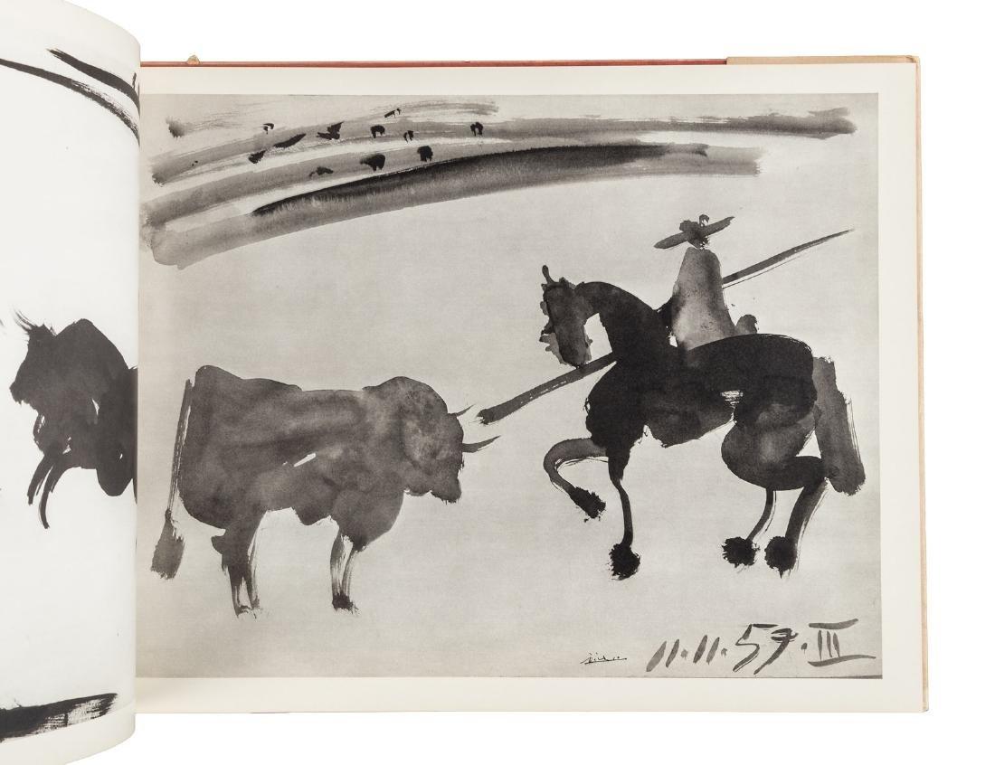 Picasso Toreros 4 original lithographs 1st Edn 1961 - 6
