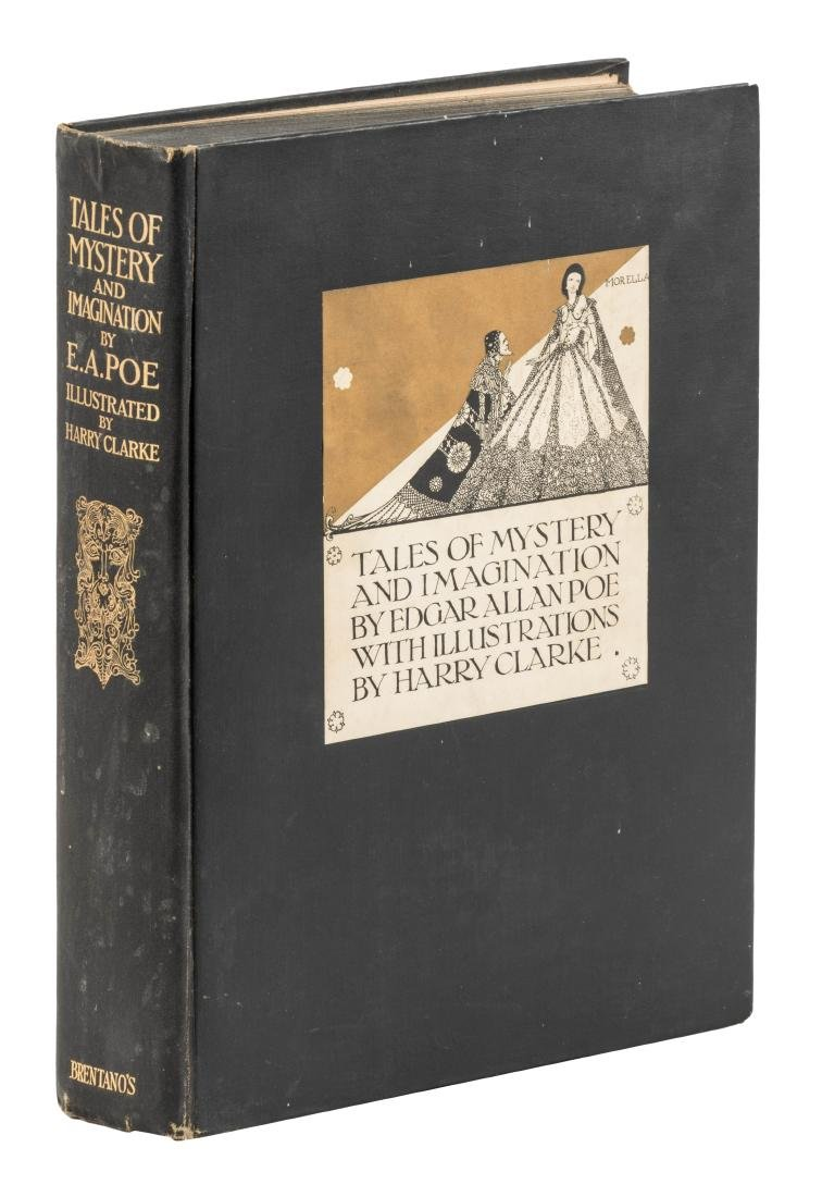 Poe, Tales of Mystery and Imagination Illus. by Harry