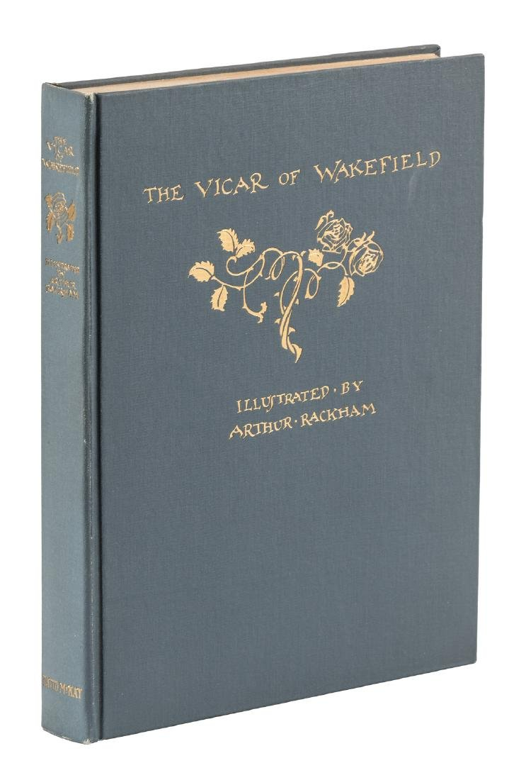 Rackham's Vicar of Wakefield 1st American Edition