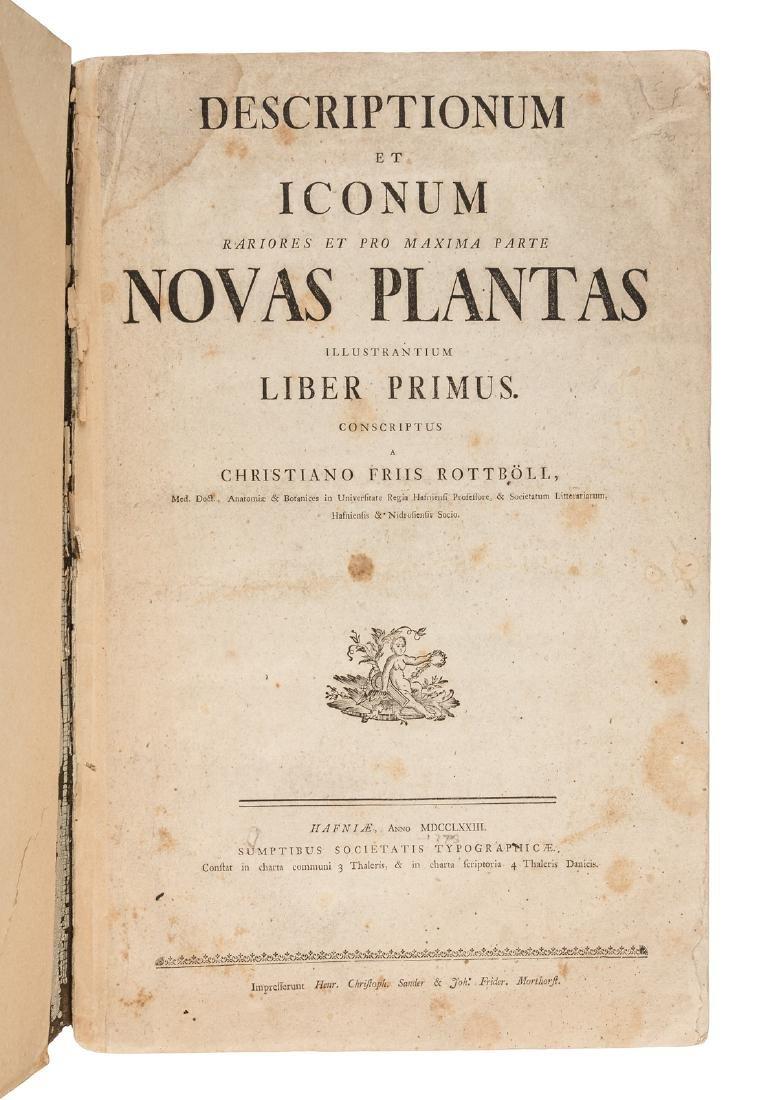 19 plates of rare plants 1773
