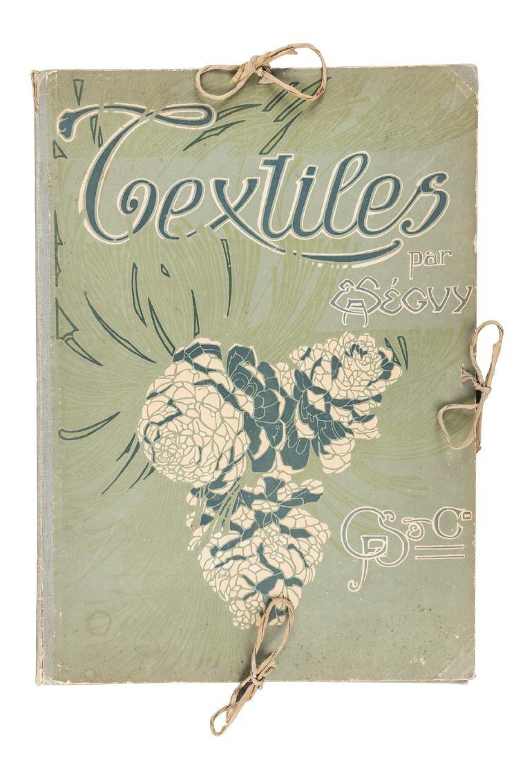 Art Nouveau textile designs by E.A. Seguy - 2