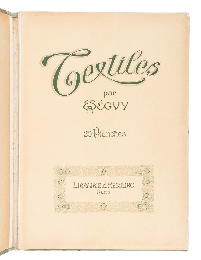 Art Nouveau textile designs by E.A. Seguy - 3