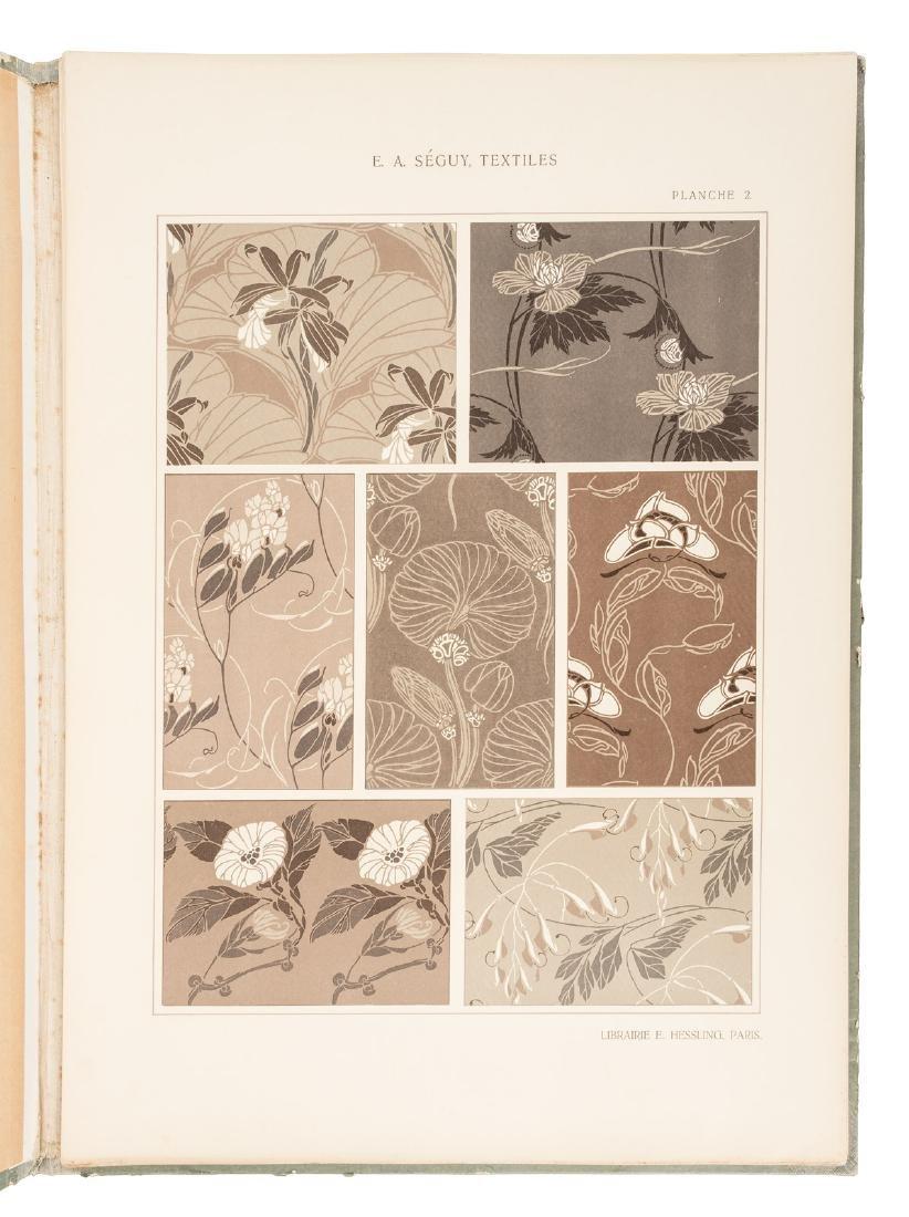 Art Nouveau textile designs by E.A. Seguy - 4