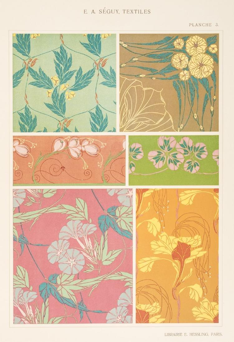 Art Nouveau textile designs by E.A. Seguy - 5
