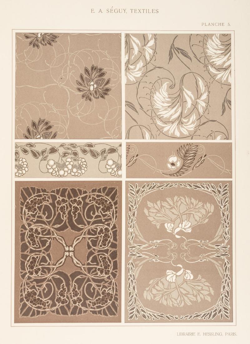Art Nouveau textile designs by E.A. Seguy - 6