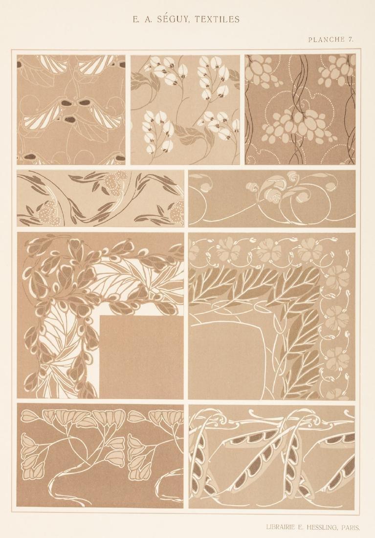 Art Nouveau textile designs by E.A. Seguy - 7