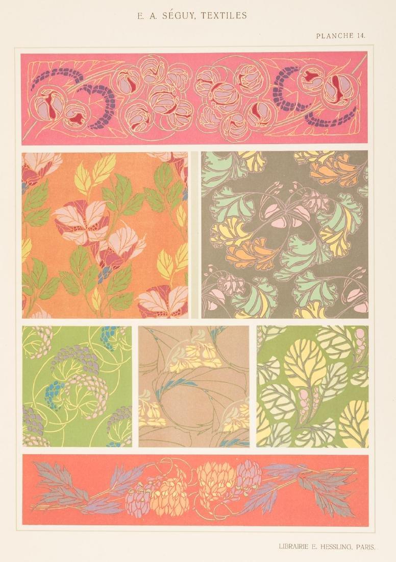 Art Nouveau textile designs by E.A. Seguy - 9