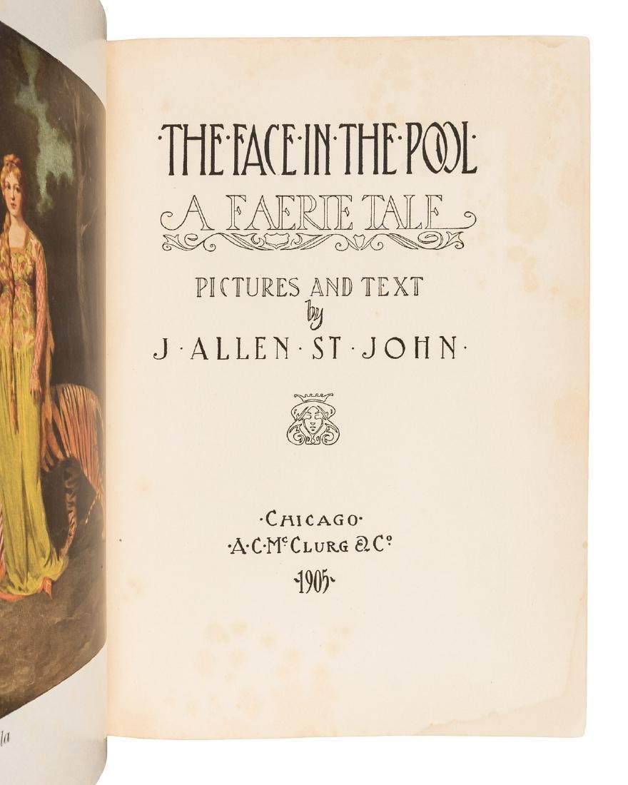J. Allen St. John, Face in the Pool 1905 - 2