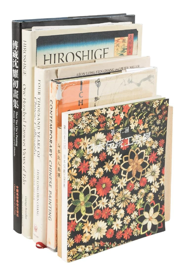 Six volumes on Asian art