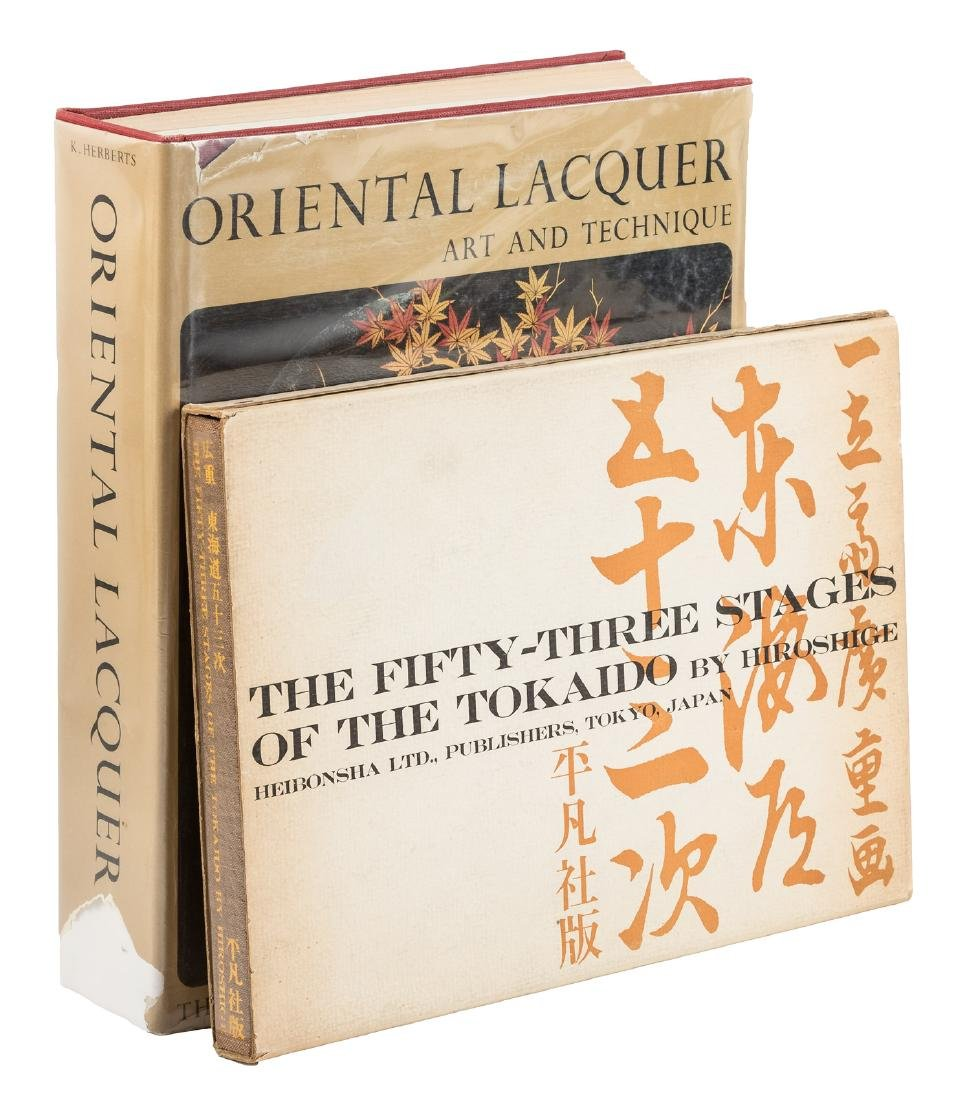 Two volumes of Asian art